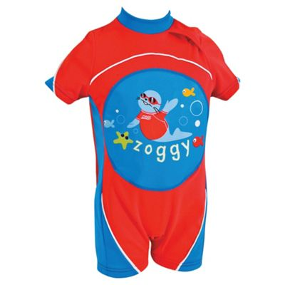 Zoggs Zoggy Swimfree Float Suit, Red, 2-3 years