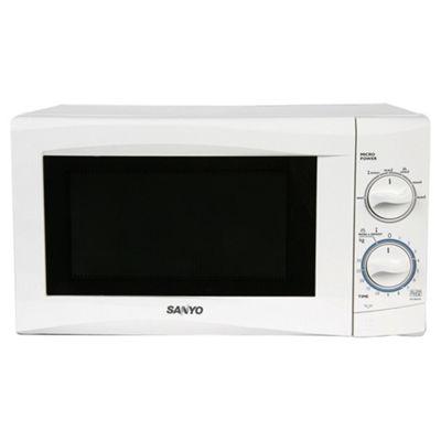 Sanyo 17L Manual Microwave White