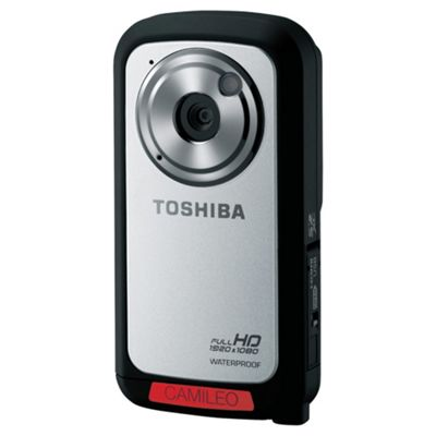 Toshiba Camileo BW10 Sportcam 5MP Full HD Waterproof Digital Camcorder - Silver