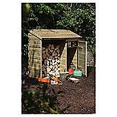 Forest Garden Log & Tool Store
