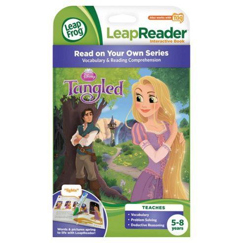 Leapfrog LeapReader Tag Disney Princess Tangled Interactive Book