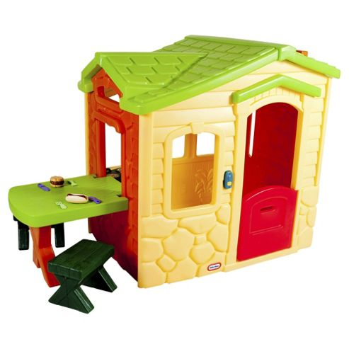 Little Tikes Picnic on the Patio Playhouse, Natural
