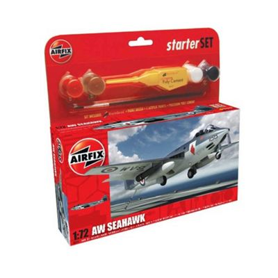 Airfix Aw Seahawk 1:72 Scale Cat 1 Gift Set