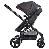 Chicco Urban Plus 3 in 1 Travel System, Red Passion