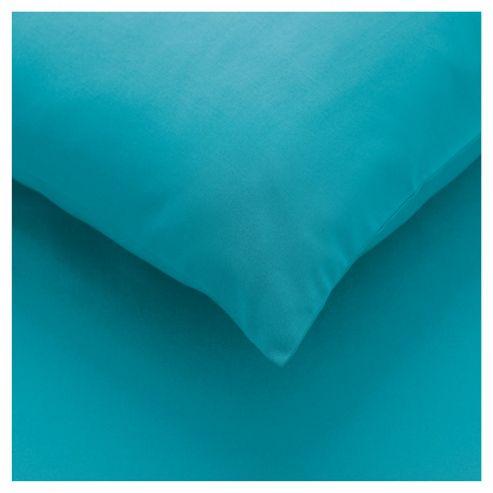 Tesco twin pack pillowcase - Bright Teal