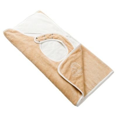 Cuddledry Apron Baby Towel, Cream