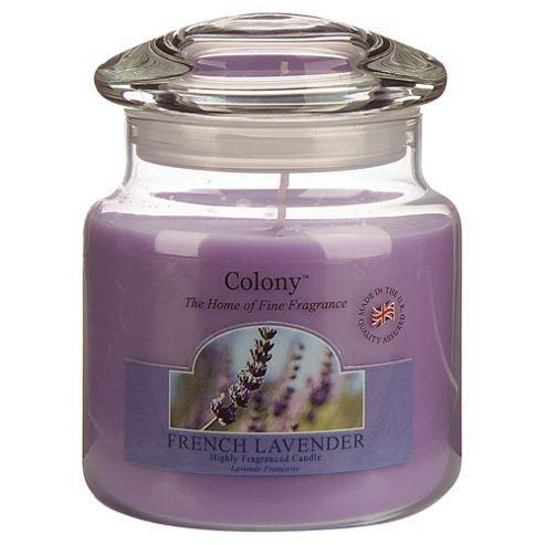 Colony French Lavender Medium Candle Jar