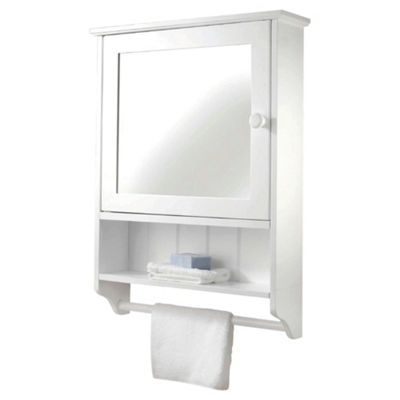 Croydex Hamble Single Door Cabinet