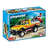 Playmobil 4228 Pick Up Truck With Quad