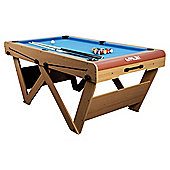 """FSPW-6 Riley """"W"""" Leg 6' Snooker and Pool Table"""