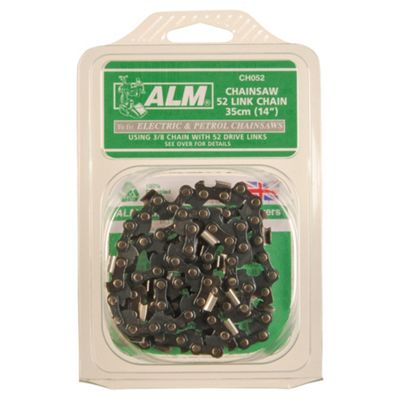 ALM 52 link chainsaw chain to fit 35cm electric & petrol chainsaws, including McCulloch