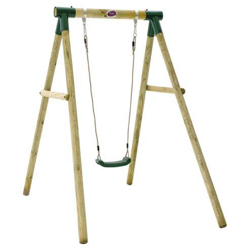 Plum Bush Baby Wooden Single Swing Set