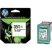 HP 351XL High Yield Tri-colour Original Ink Cartridge