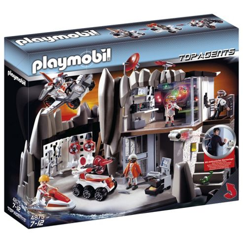 Playmobil 4875 Top Agents Headquarters