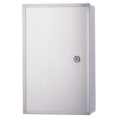 Croydex Trent Lockable Wall Mounted Bathroom Cabinet