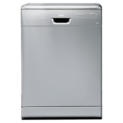 Whirlpool ADP2315 Full Size Dishwasher, A Energy Rating. Silver