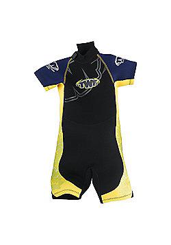 TWF Wetsuit Shortie Kids' - Yellow