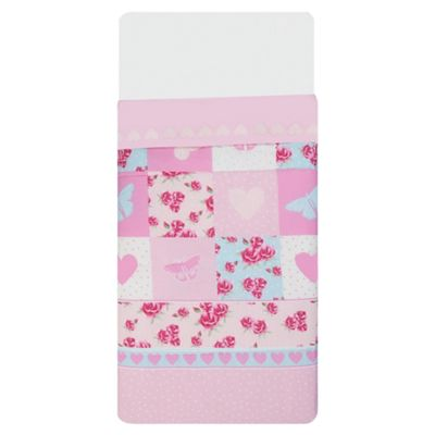 Tesco Kids Rose Patch Quilt