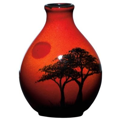 Buy Poole Pottery African Sky Bud Vase 125cm From Our Vases Bowls