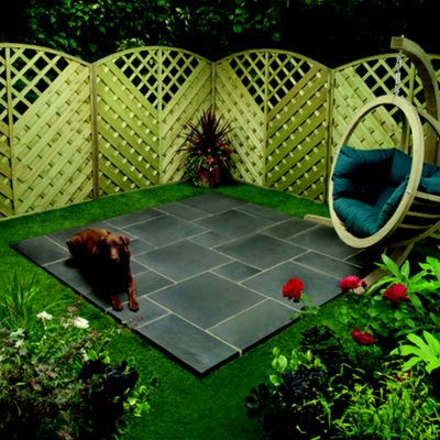 Oxford Cornish Slate Random Patio Kit 2.4x2.4m