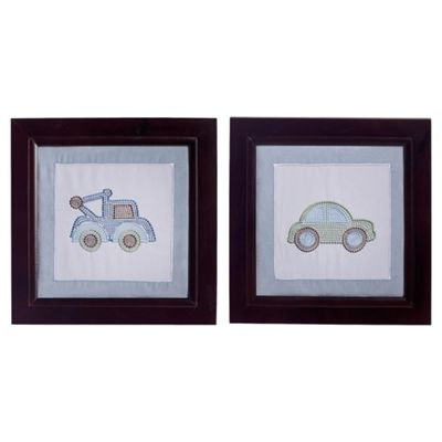 Kids Line Mosaic Transport Wall Art