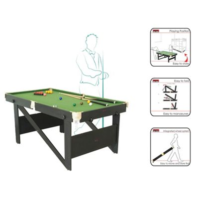 Riley Rolling, Lay Flat 6' Snooker Table