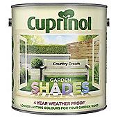Cuprinol Garden Shades, Country Cream, 2.5L