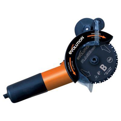 Evolution RAGE Twin125 Twin Blade Saw (Orange)