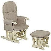 Tutti Bambini GC35 Glider Chair Vanilla