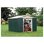 Yardmaster Apex Metal Shed, 10x8ft