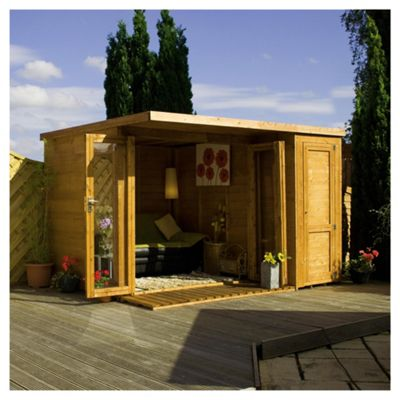 Mercia Wooden Summerhouse Garden Room, 12x8ft