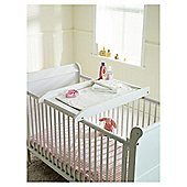 Saplings Cot Top Changer, White
