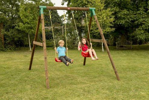 Little Tikes Roma Double Swing Set