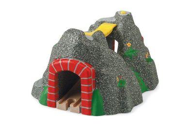 Brio Classic Accessory Adventure Tunnel, wooden toy