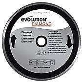 Evolution 255mm Diamond Blade