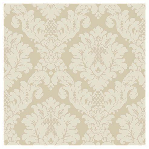 Arthouse Da Vinci damask cream wallpaper