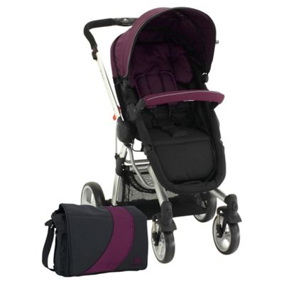 Petite Star Kurvi Match Pushchair, Purple