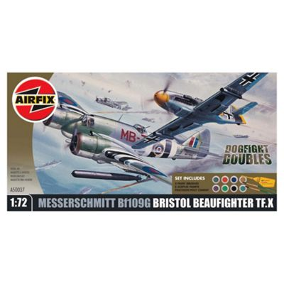 Airfix Dogfight Double Beaufighter & Me109 Gift Set