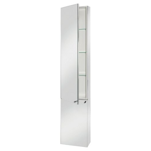 Croydex Nile Tile Stainless Steel Cabinet