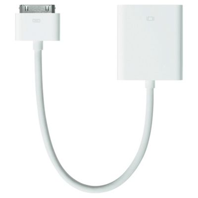 Apple 30-pin to VGA Adapter for iPad/iPhone/iPod