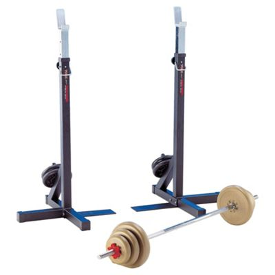 York Fitness Heavy Duty Squat Stands x 2