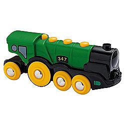 Brio Classic Accessory Big Green Action Locomotive, wooden toy