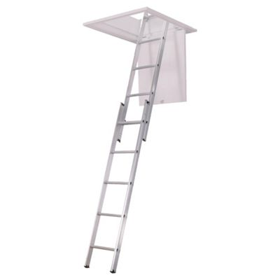 Abru 2-Section Aluminium Loft Ladder, 36000
