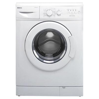 Beko WM6111W Washing Machine, 6kg Wash Load, 1100 RPM Spin, A+ Energy Rating. White
