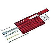Victorinox SwissCard Quattro Multi-Tool, Red