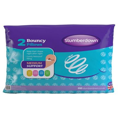 Slumberdown Pillow Twinpack - Bouncy