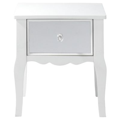 Angel Mirrored Bedside Table