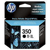 HP 350XL High Yield Black Original Ink Cartridge
