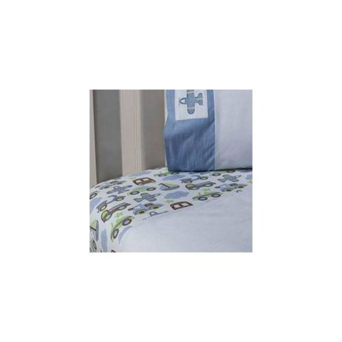 Kids Line Mosaic Transport Cot Bed Quilt