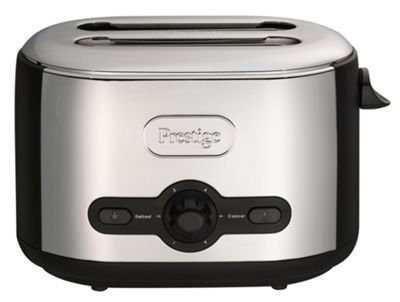 Prestige Debut 54780 2 Slice Toaster - Black & Chrome